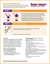 Androderm® Application Guide